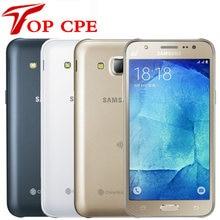 Samsung galaxy j5 j500f j500h desbloqueado, 8gb rom 1.5gb ram 1080p câmera 13.0mp 5.0 polegadas lte remanufaturado telemóvel