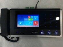 Compras baratas Hikvision videoportero gestión unit-DS-KM8301 Monitor de interior