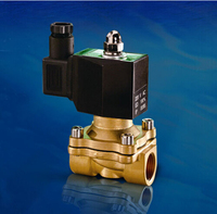 3 8 2W Series Square Coil IP65 Solenoid Valve Brass Electromagnetic Valve Normally Closed