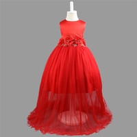 YWHUANSEN Dress For Girls Ball Gown Robe Mariage Fille Toddler Dresses For Graduation For Girls In