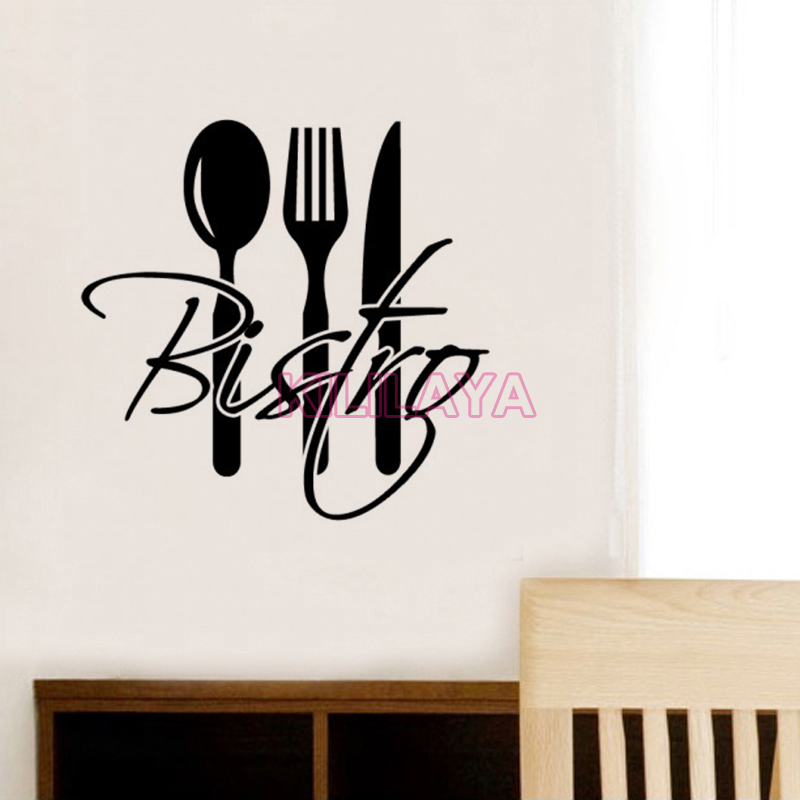 Stickers French Cuisine Bistro Vinyl Wall Sticker Decal Mural Wall