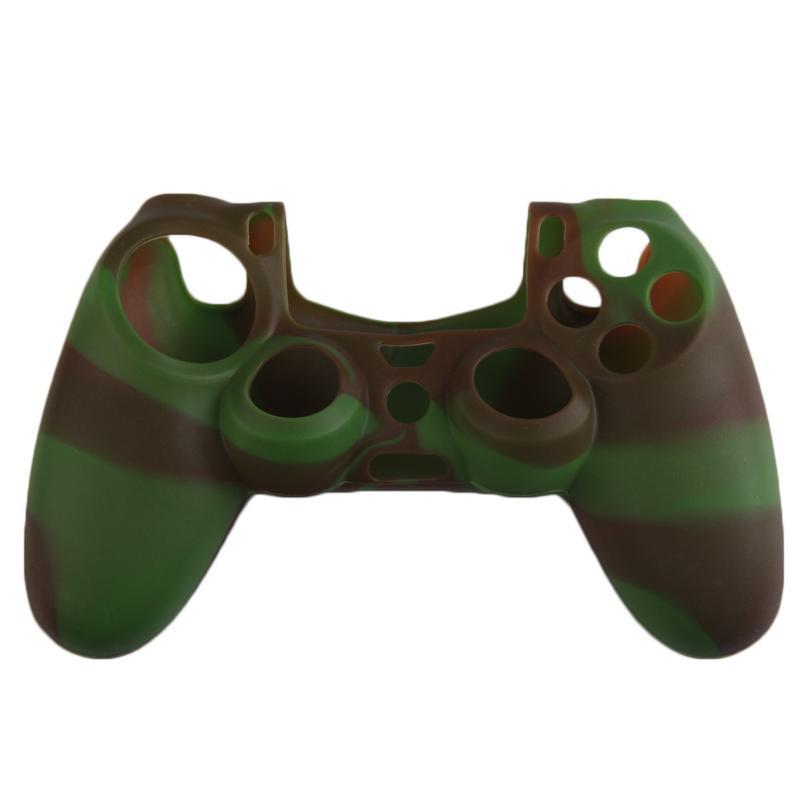 Schutzhülle Einfarbig Fällen Slim-controller Fall Silikon Weiche Flexible Gel Gummi Shell Cover Video Game Controller Zubehör Videospiele Fälle