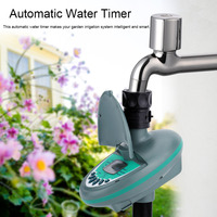 Home Garden Automatic Smart LCD Display Water Timer Controller Electronic Garden Irrigation Watering Timer System Controller