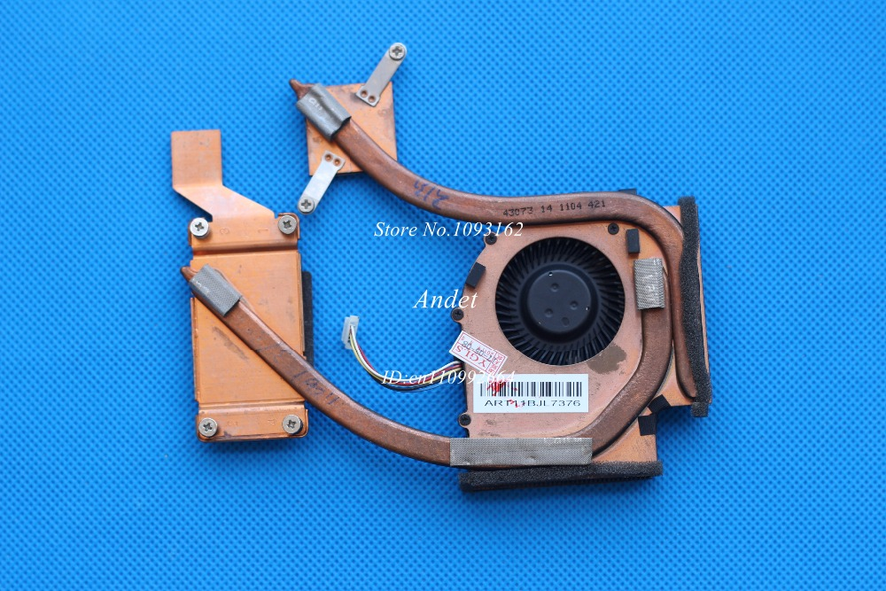 New Original for Lenovo ThinkPad E420 E425 E520 E525 SWG Discrete Graphics Heatsink CPU Cooler System Cooling Fan 04W1834 new original cooling fan for lenovo thinkpad x201t cooler radiator heatsink