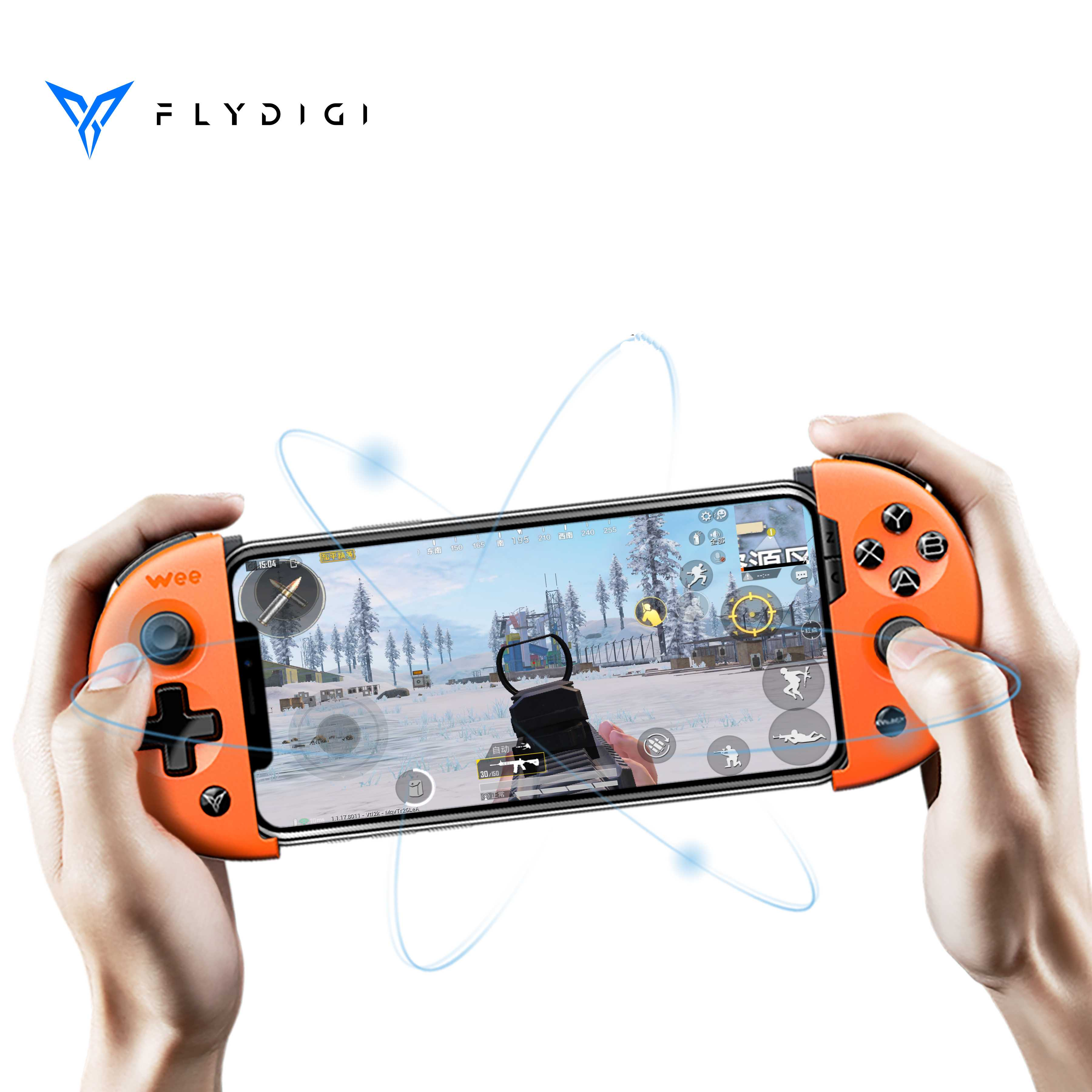 Flydigi wee 2T with mouse keyboard conveter Pubg controller mobile game Motion Sensing gamepad(China)