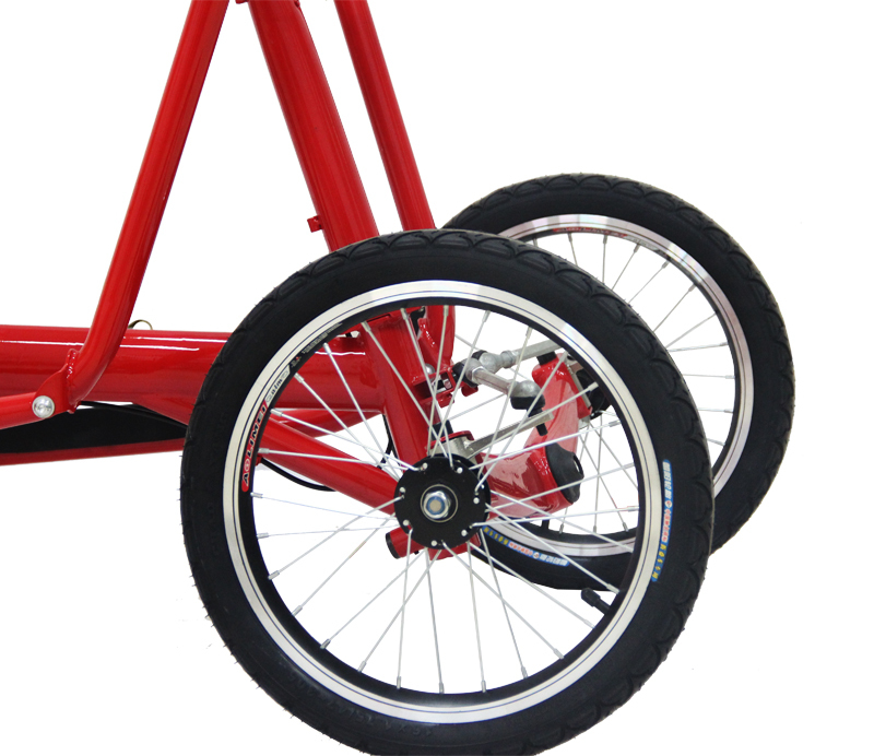 1sd New Outdoor Three Wheel Cycling Bikes Folding Bicycle Frame Aluminium Wheels Single Sd 3 Scooter Road In From Sports
