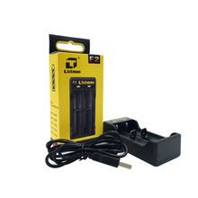 Listman Battery Charger for 18650 26650 F2 Charger Universal Battery USB Charger for AA AAA Li-ion 26650 18650 18350 Batteries