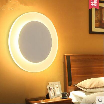 LED Corridor lights the bedroom the head of a bed the sitting room porch stairs 6w - 10w creative wall lamp 110v-240v   @-9 creative lamp the dog contemporary and contracted study lamp bedroom the head of a bed folding the mywood art lighting