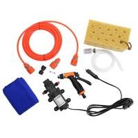 Professional Car 12V High Pressure Water Gun Water Pump Electric Car Auto Washing Tools Kit Self Help Car Washing Machine
