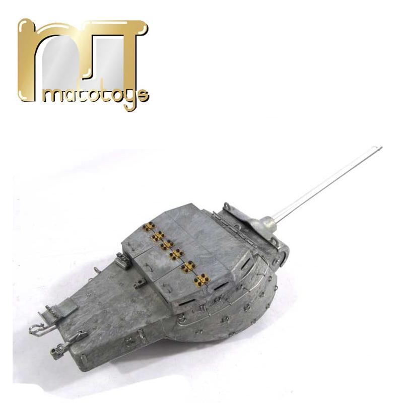 Mato Metal Parts 1/16 M36B1 Tank Destroyer RC Tank Turret With Servo mato metal turret 1 16 m4a3 75 w sherman for mato 1230 100