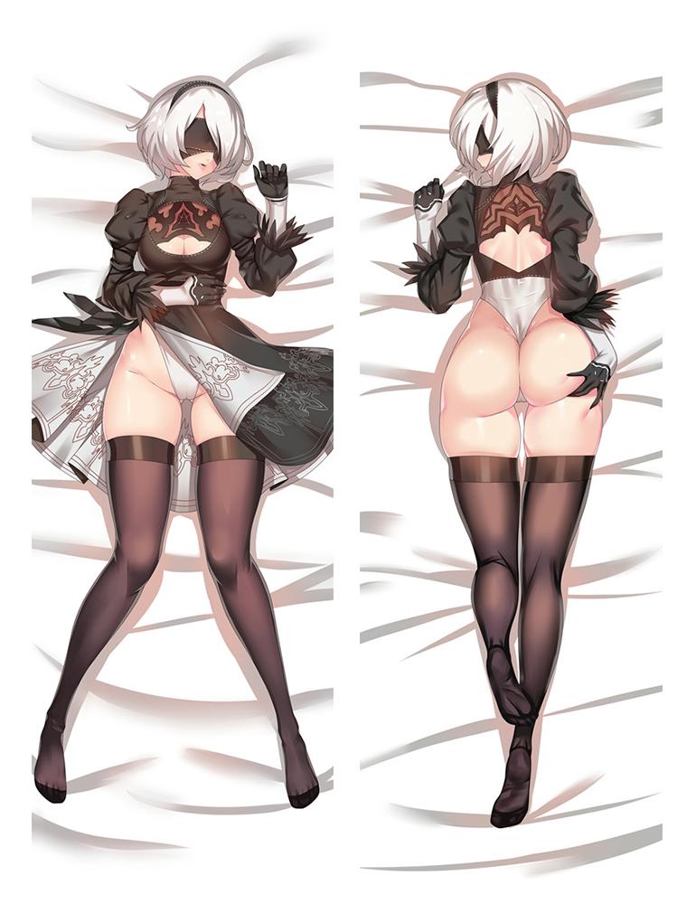 33 Game NieR Automata YoRHa 2B Dakimakura Hug Body Pillow Cases Cover 74018 (2)