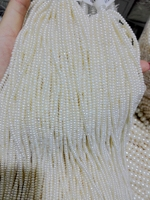 Wholesale Real Pearl Bead 2 8x3 2mm 15 White Natural Freshwater Pearl Real Pearl Bead Loose