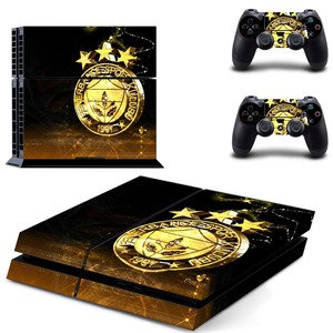 Image 3 - Fenerbahce Spor Kulubu Football PS4 Skin Sticker Decal Vinyl for Sony Playstation 4 Console and 2 Controllers PS4 Skin Sticker