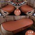 Estilismo de coches Interior del Asiento Cubre Cuatro Temporadas Asiento Amortiguador para VW Golf 4 5 6 7 Passat B6 B5 Polo Bora Touran Tiguan Accesorios