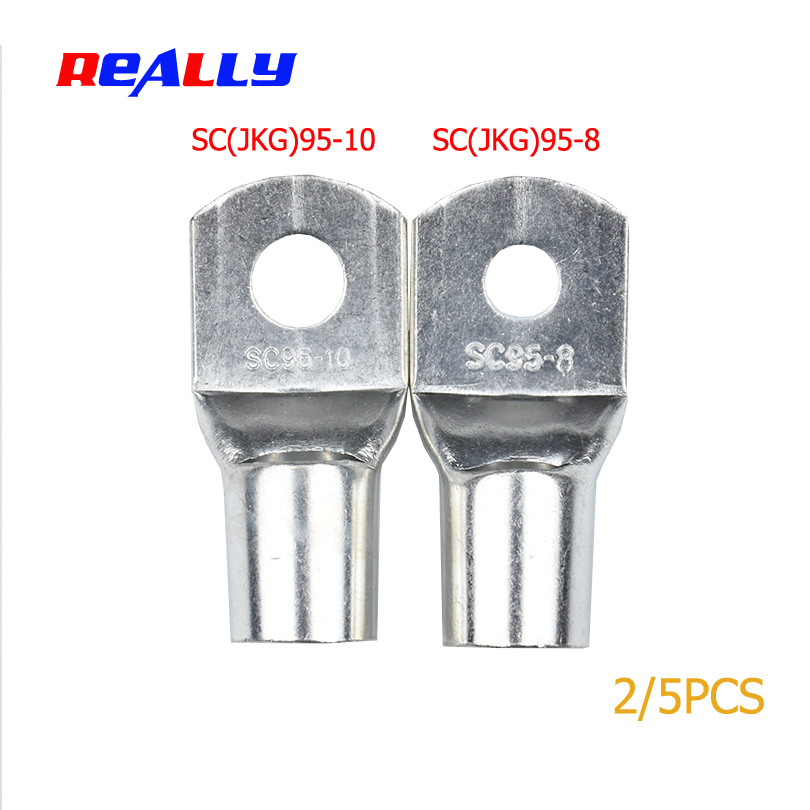Electrical Equipments & Supplies Really Sc95-8 95-10 Copper Cable Lug Kit Bolt Hole Tinned Cable Lugs Battery Terminals Copper Nose Wire Connector A Complete Range Of Specifications