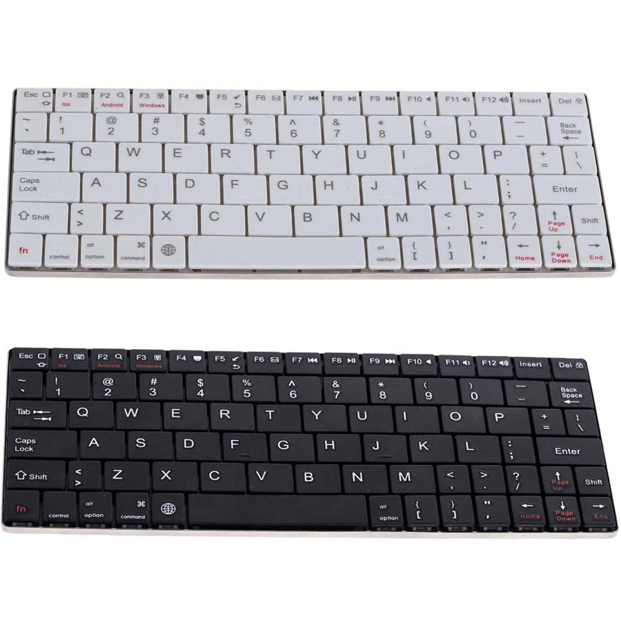 Best UN2F 2016 Best Ultra Slim Wireless Bluetooth 3.0 Keyboard for IOS/Android/Windows Tablet ...