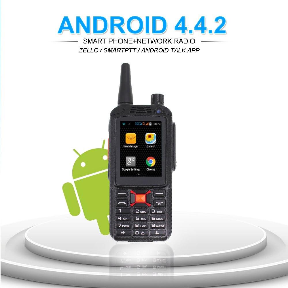 Image 4 - 3G Network Radio Zello Walkie Talkie Phone PTT Moblie phone Dual SIM Card GPS Wifi Radio-in Walkie Talkie from Cellphones & Telecommunications