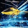 Envío gratis grande estupenda RC 3.5CH helicóptero girocompás incorporado SF557A F557A remoto Control de longitud RC Helikopter Total los 73 CM