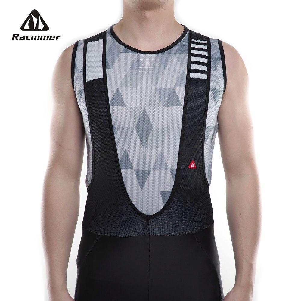 Racmmer 2019 vélo Cool Mesh Fitness Cycle cyclisme Base couches vélo sans manches chemise Sport respirant sous-vêtements Ciclismo