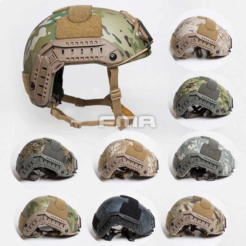NEW FMA Outdoor MC Camouflage series Tactical Seal Maritime Helmet Thick and Heavy Version for Hunting
