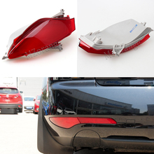 MZORANGE Car Outer Tail Bumper Reflector Light For Mazda CX-7 CX7 2009-2015 Rear Brake Lamp Accessories