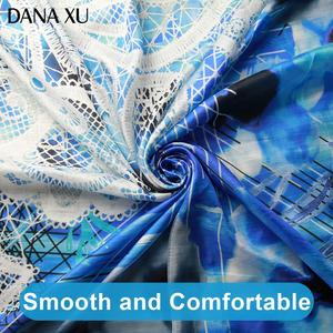 Image 5 - 2019 Silk Long Scarf Luxury Brand Women New Design Beach Blanket Shawl Wear Swimwear Bandana Hijab Face Shield Foulard 245*110cm
