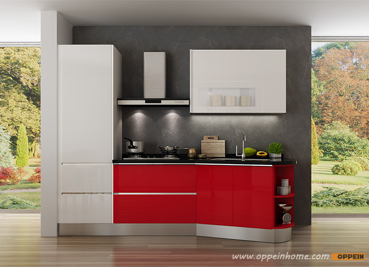 European Standard New Design Lacquer Small Kitchen Cabinet