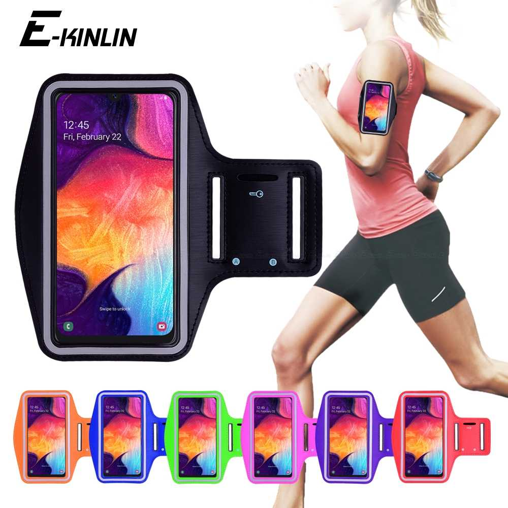 Running Sports Gym Armband Exercise Phone Case Cover For Samsung Galaxy A71
