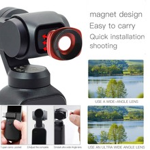 JINSERTA Ultra Wide angle Lens for DJI Osmo Pocket, Professional HD Magnetic Structure Lens for Osmo Pocket Accessories-in Sports Camcorder Cases from Consumer Electronics on Aliexpress.com | Alibaba Group