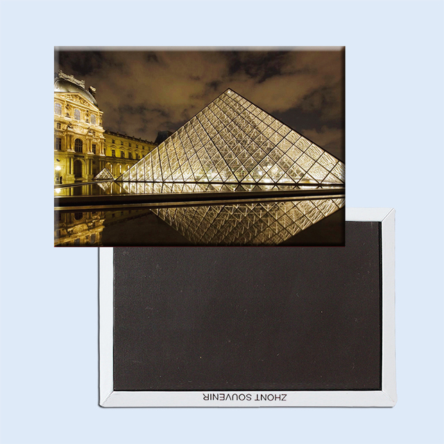 Arc DE triomphe musée du Louvre | souvenirs touristiques, Paris France, aimants magnétiques pour réfrigérateur, artisanat DE décoration pour la maison