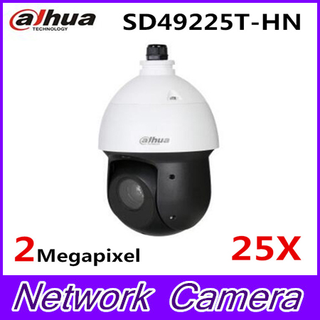 Dahua SD49225T-HN 2MP 25x Starlight IR PTZ Network Camera ,free DHL shipping