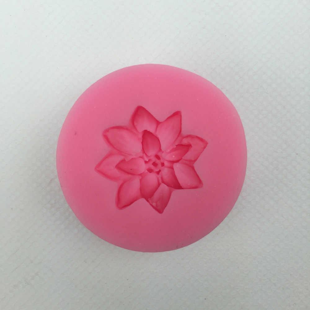 شحن مجاني ثلاثية الأبعاد زهور أقحوان صغيرة الشوكولاته كعكة الزفاف تزيين أدوات لتقوم بها بنفسك الخبز فندان قالب من السيليكون T0285