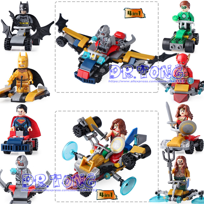 DR.TONG 8pcs/lot Dlp9068 Marvel Avengers Super Hero Action Figures Superman Batman Robin Building Blocks Bricks Toys Child Gifts marvel hero series avengers superheroes pvc action figures toys spiderman ironman superman batman thor collection model toys