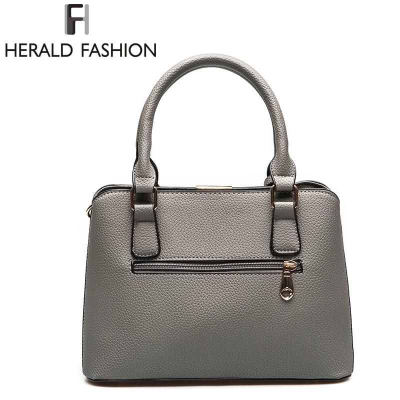 Herald Fashion PU ტყავის ზედაპირით - ჩანთები - ფოტო 4