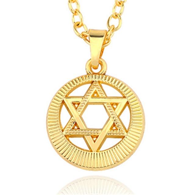 Vintage Punk Hexagram Charms Pendants Triangle Star Of David Wings Cross  Geometric Unisex Sweater Choker Necklaces Women Gift 04fa7b75c5cc
