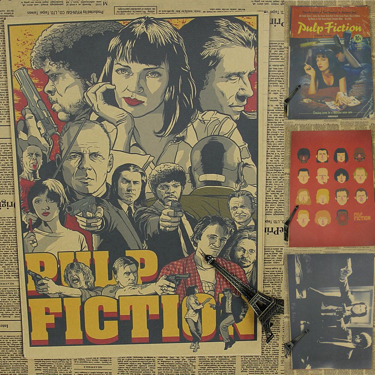 pulp fiction essays Pulp fiction, released in 1994 as an american black comedy neo-noir   passionately involved per www in short story writing/essays/articles.