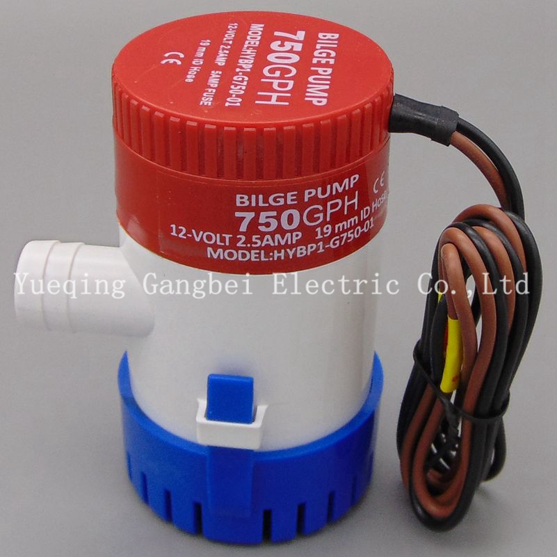 <font><b>bilge</b></font> <font><b>pump</b></font> <font><b>12v</b></font> <font><b>750gph</b></font> G750-12 12VDC rule water <font><b>pump</b></font> used in boat seaplane motor homes houseboat image