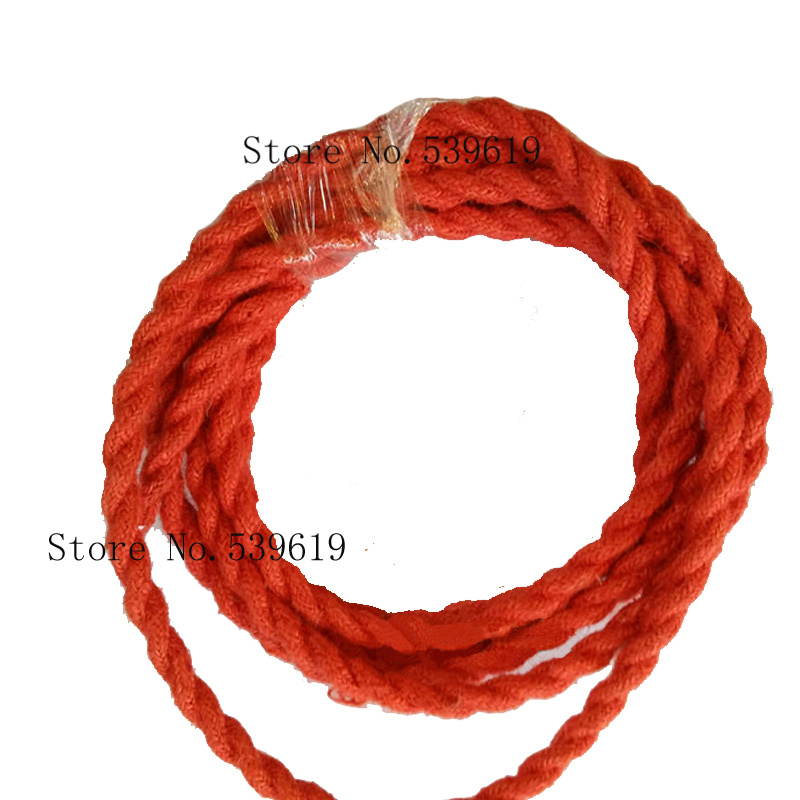 10M Vintage Electrical Wire Rope Twisted Wire Retro Textile Braided ...