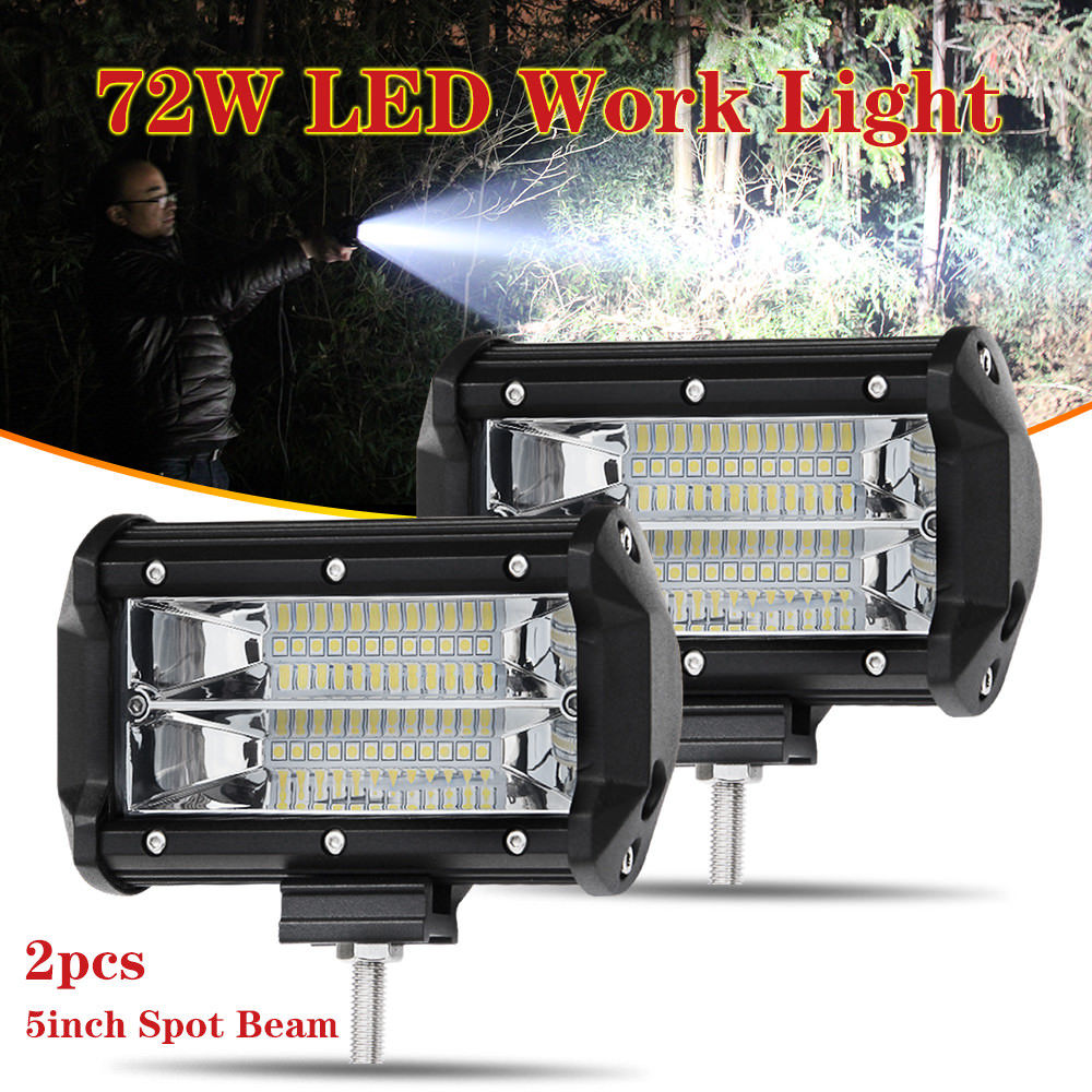5inch 210W CREE LED Work Light Bar Spot Flood Combo Beam Off-Road Driving Lamp