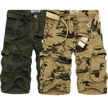 Mens Cargo Shorts Men Camouflage Camo Military 2019 New Summer Fitness Workout Hip Hop Casual Male