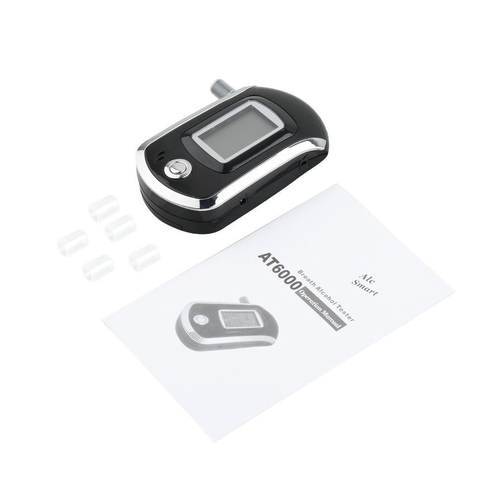 Breathalyzer with LCD