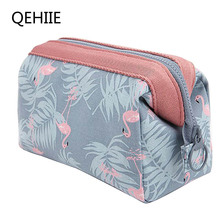 QEHIIE New Fashion Polyester Multifunctional Women Cosmetic Bag Portable Storage Travel High Quality Makeup Bag