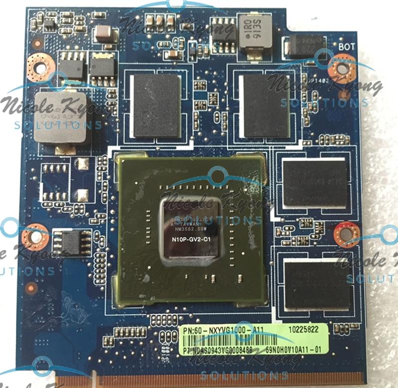 100% working      NXYVG1000-A11 69N0H0V10A11-01 N10P-GV2-C1 GT220M F90SG VGA Video card for ASUS N81V N81VF G50IJ100% working      NXYVG1000-A11 69N0H0V10A11-01 N10P-GV2-C1 GT220M F90SG VGA Video card for ASUS N81V N81VF G50IJ
