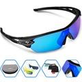 2016 Nova Marca Ao Ar Livre Esportes Óculos Polarizados Óculos de Sol Da Moda Óculos Esporte para Escalada Correndo Pesca Golfe Óculos 100% UV400