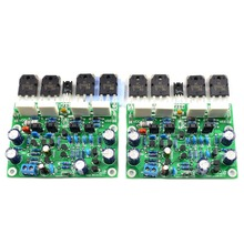 One Pair MX50X2 Two Channels Single-Ended Quasi-Complementary Amplifier w/AP SYS 2 Test LJM 2 Boards