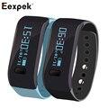 Eexpek Movendo para Cima Pulseira Bluetooth Rastreador De Fitness Banda Pulseira de Relógio Do Esporte Ao Ar Livre À Prova D' Água Inteligente Wearable Dispositivo Para IOS