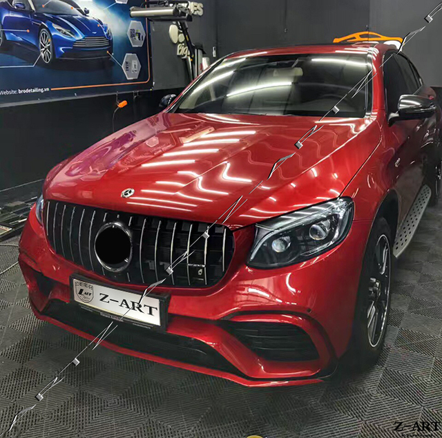 2017 Mercedes Benz Mercedes Amg Glc Coupe Interior: Z ART GLC 63 Body Kit For Mercedes Benz GLC COUPE W253