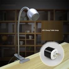 3 Вт led зажим лампы, 85-265Vac адаптер led затемнения, теплый белый, нейтральный белый, белый изменение USB 5 В, высокий CRI лампа Для Чтения