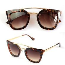 c1dbb02aa5 Hao Chuang optical Store. Add to Wish List. Gianna Jun Black Classic Big  Square Frame Cat Eye Glasses New Vintage Fashion Summer Cool Sunglasses