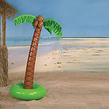 Lawn Water Sprinkler Inflatable Fun Toy Coconut Tree Decoration for Outdoor Party AN88